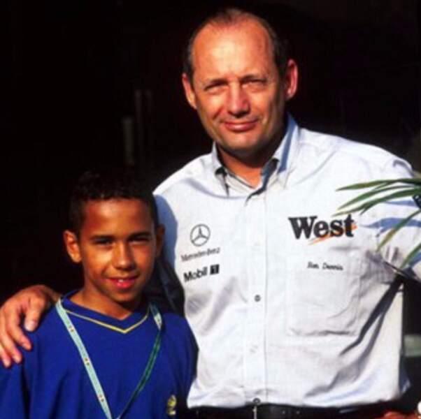 """""""Un jour, je serai pilote de Formule 1"""", avait-il confié à Ron Dennis, le patron de l'écurie McLaren à l'époque"""