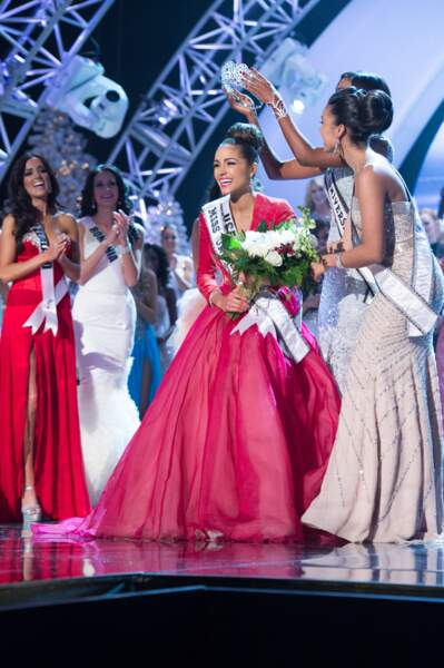 Olivia Culpo, Miss USA 2012, devient Miss Univers 2012