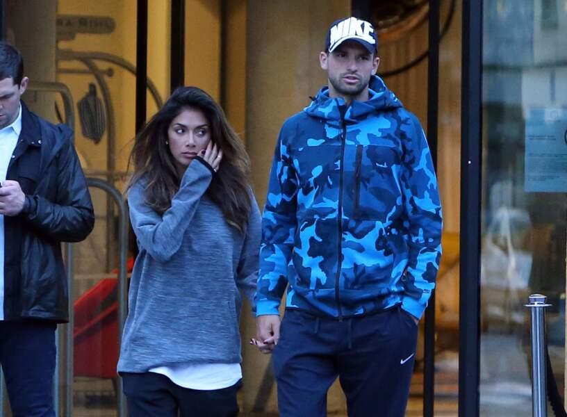 Quant à Grigor Dimitrov, il roucoule avec la chanteuse Nicole Scherzinger