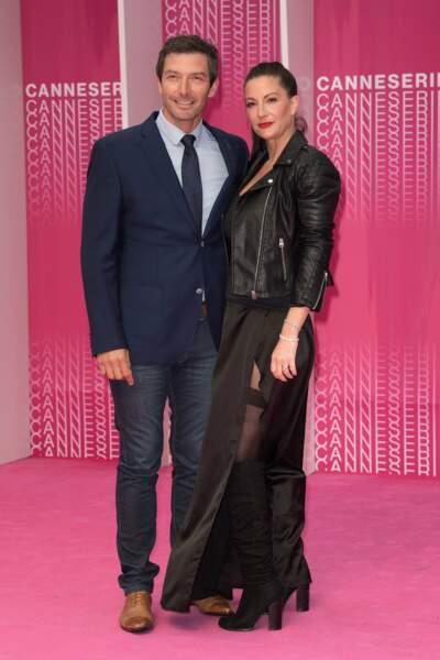 Si Section de recherches est en diffusion sur TF1 actuellement, Franck Sémonin, lui, est à Cannes avec sa femme