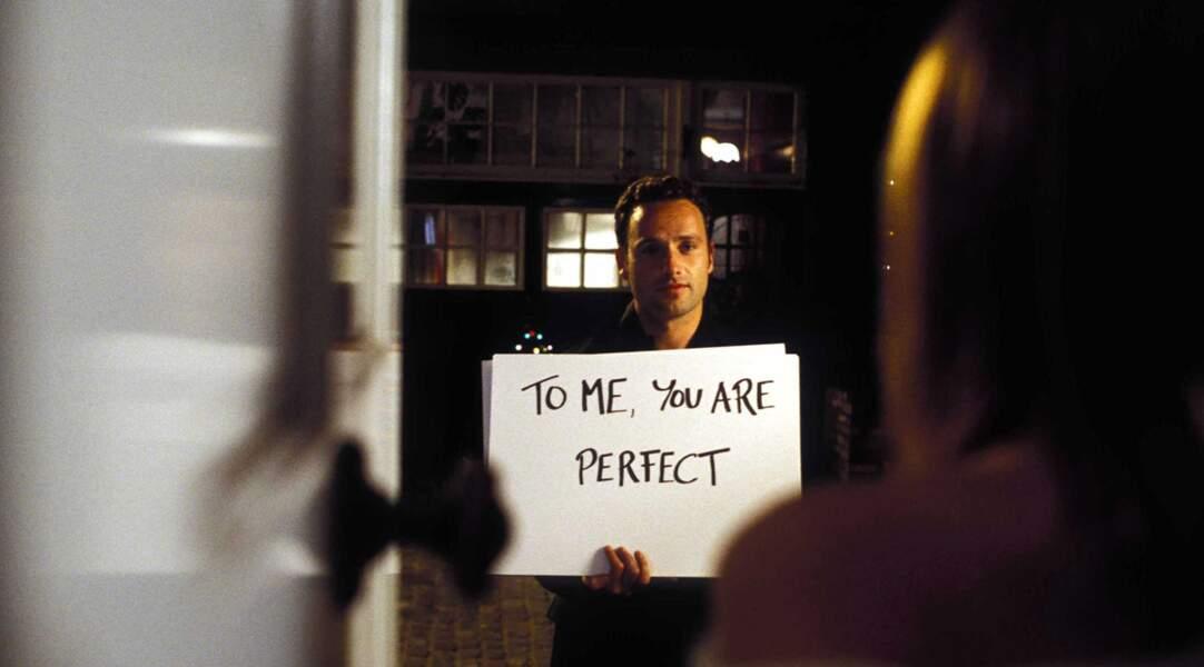Et surtout dans des comédies romantiques, comme ici dans Love Actually (2002)