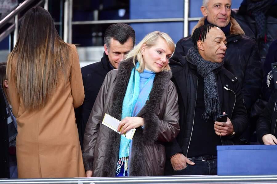 Margarita Louis Dreyfus ne souhaitait pas rater le match