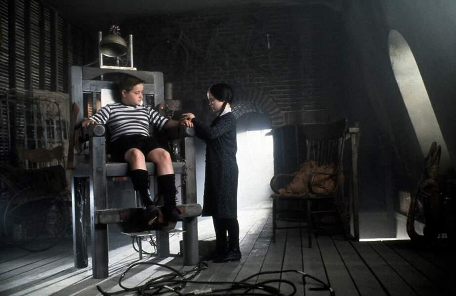 Comment oublier aussi le duo de frère et soeur composé de Mercredi et Pugsley Addams ?