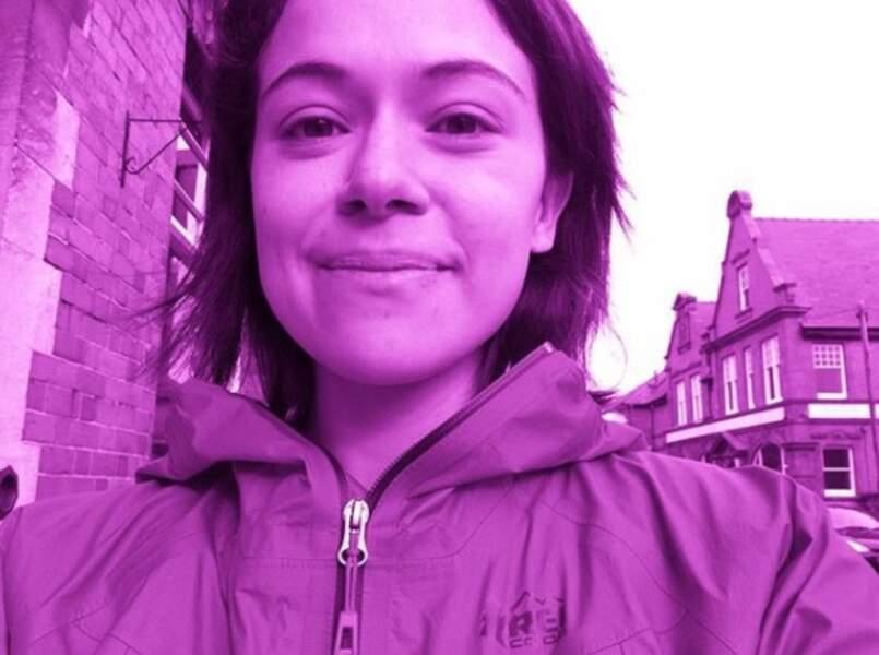 Et un filtre violet pour Tatiana Maslany, l'héroïne d'Orphan Black
