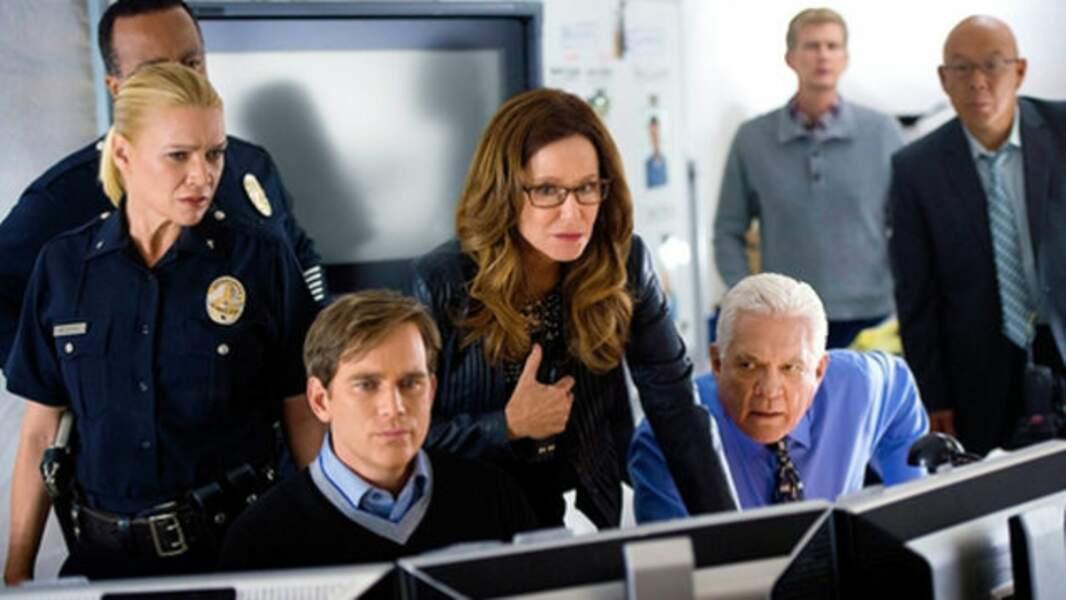 Mais également dans la troisième saison de Major Crimes