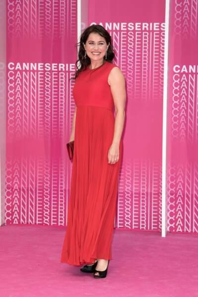 L'actrice danoise  Sidse Babett Knudsen, marraine de cette première édition de Cannes Séries