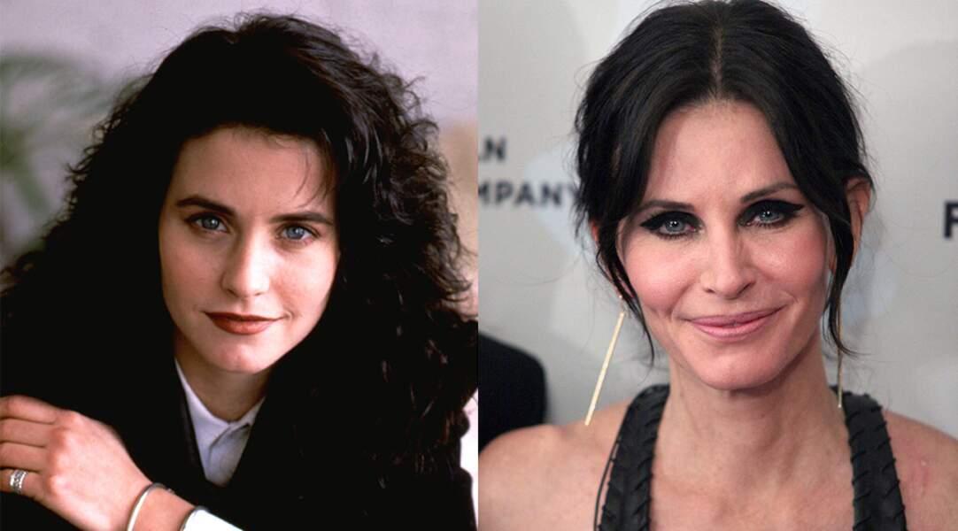 Pas facile de la reconnaître aujourd'hui : Courtney Cox alias Monica dans Friends.
