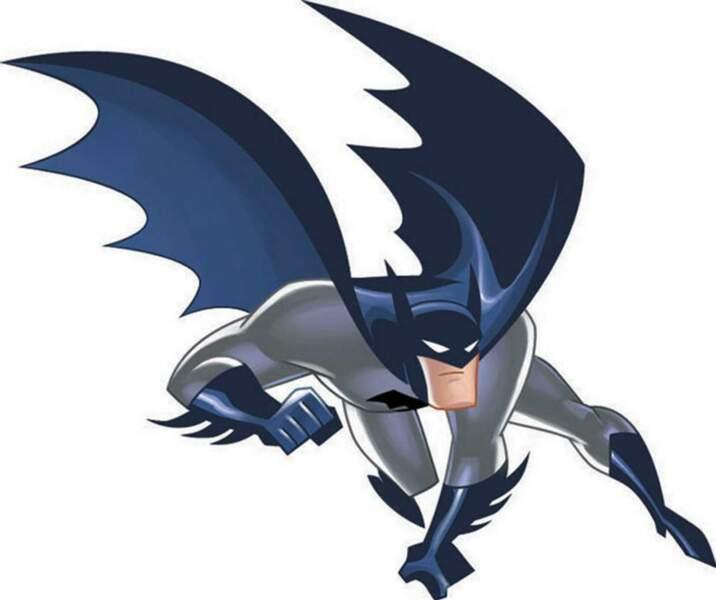 Animation oblige, Batman prend du muscle dans la série des années 2000. Trop de muscle, comme Superman.