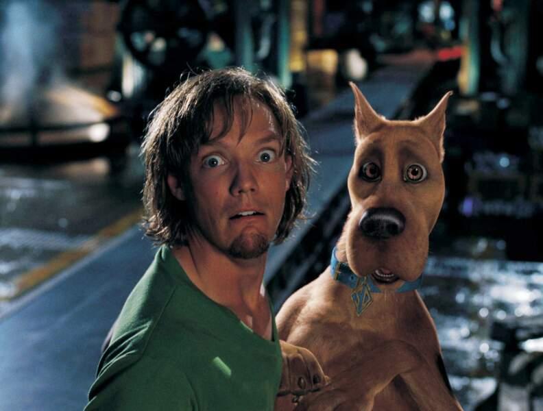 SCOOBY DOO (2001), avec Matthew Lillard : le plus peureux des clébards
