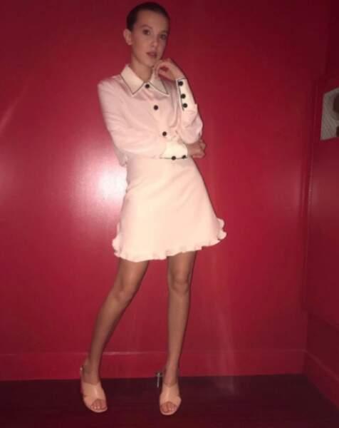 Une des magazines, robes de haute couture... Une nouvelle icône est née