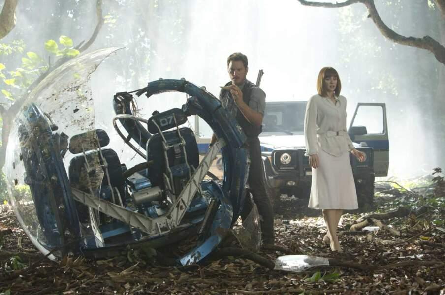 Au tour de Chris Pratt d'affronter les lézards géants...