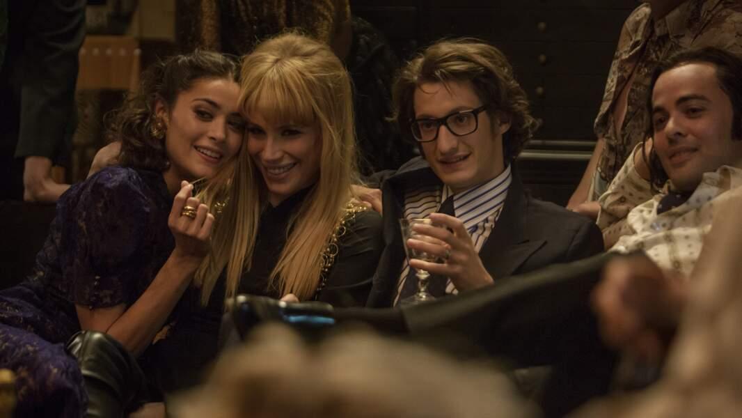 Dans Yves Saint Laurent (2014), elle campe Berry Catroux, la muse du couturier