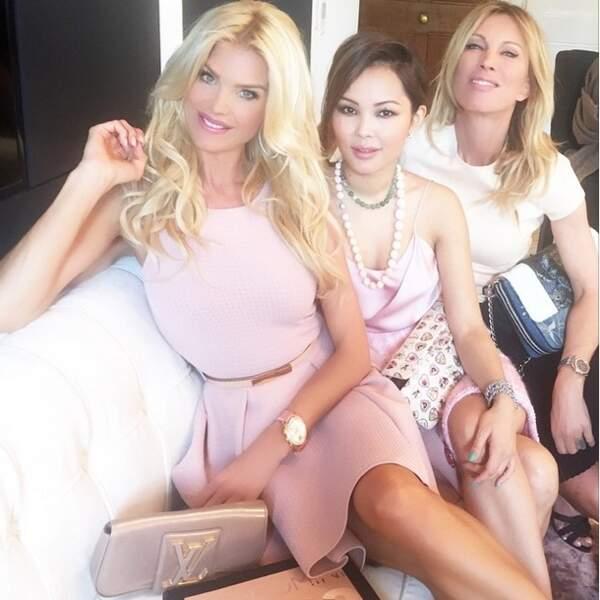 Voici Victoria Silvstedt et ses copines !