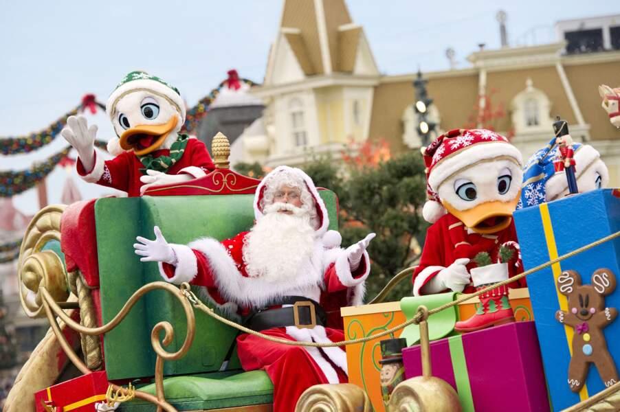 Le père Noel est déjà à Disneyland Paris