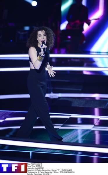 """Demandez à Amandine de chanter """"One Girl"""" de Rihanna et vous êtes sûrs qu'elle restera The One !"""