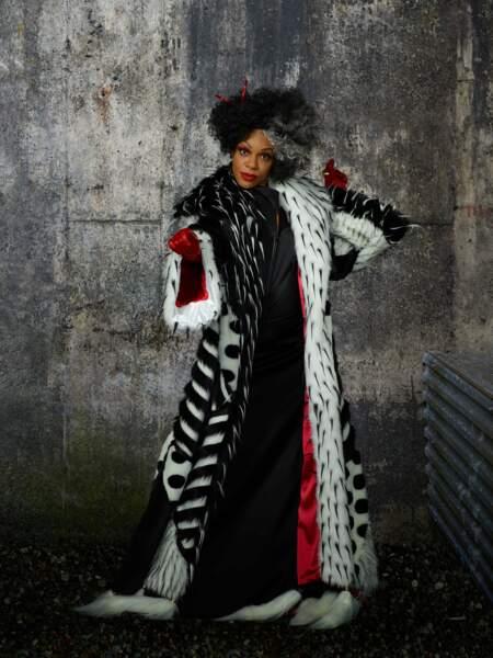 Et dire que Cruella d'enfer porte un manteau en peau de dalmatiens !