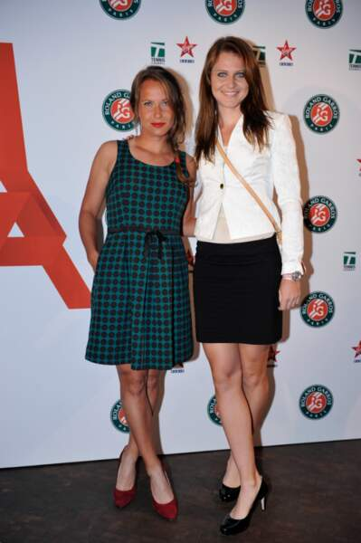 Belles de match : Les Tchèques Lucie Safarova et Barbora Zahlavova Strycova