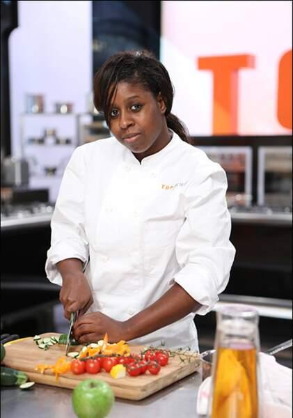 Fatimata Amadou 21 ans, La Courneuve, Commis de cuisine et bientôt demi-chef de partie au Salon Première Air France