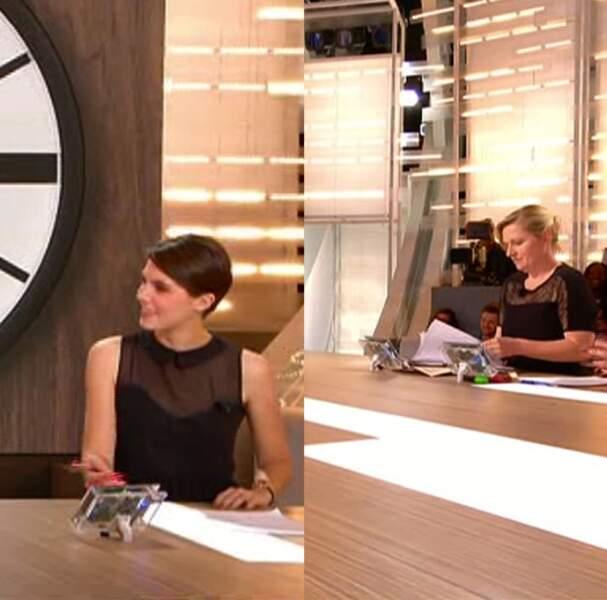 Et les gagnantes sont : Emilie Besse et Babeth Lemoine ! Etre classe avec le même look, ça s'applaudit !
