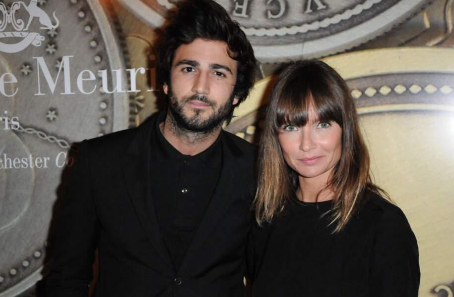 Il a vécu une belle histoire d'amour avec la comédienne Axelle Laffont