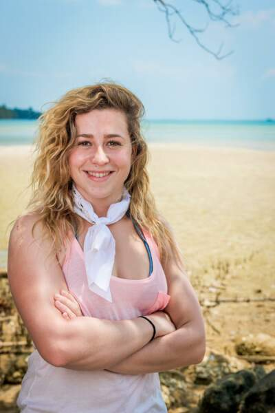 Candice, candidate de Koh-Lanta : l'île au trésor