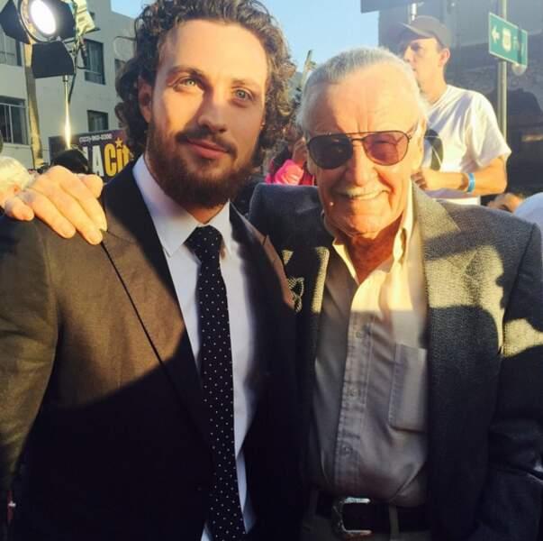Avec Stan Lee, le Dieu des amateurs de super-héros