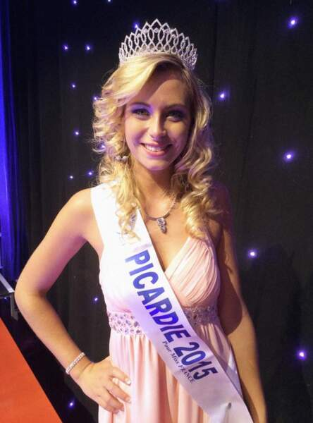 Cette jolie blonde, Emilie Delaplace, repésentera la Picardie