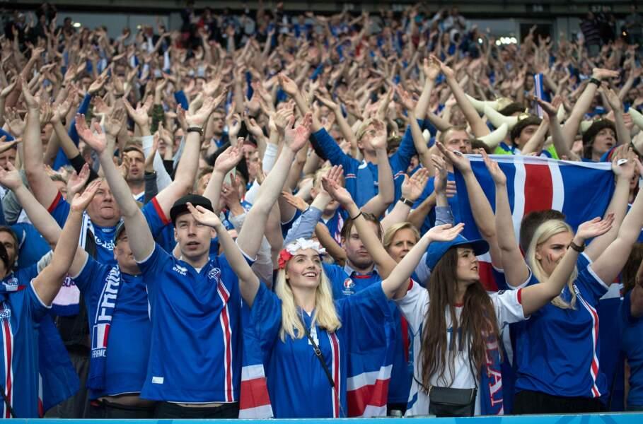 Les Islandais peuvent être fiers de leur équipe