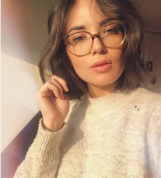 Agathe Auproux se la joue blogeuse mode