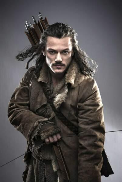 Luke Evans alias Bard l'Archer dans Le Hobbit : La désolation de Smaug