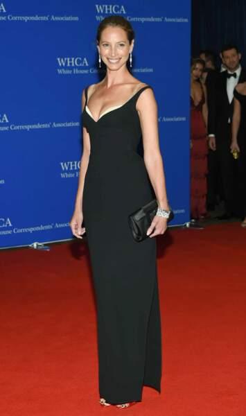 La top model Christy Turlington