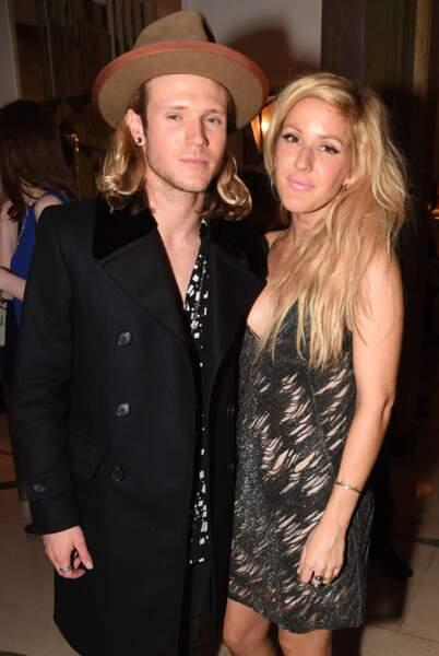 La chanteuse Ellie Goulding et Dougie Poynter, en couple depuis 2014.
