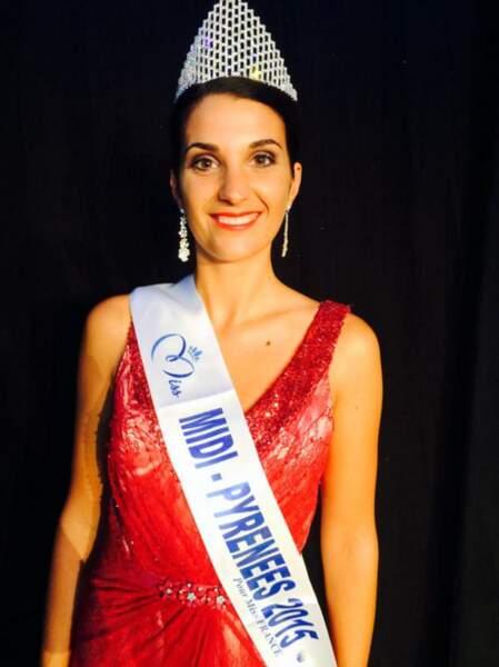 Voici Emily Segouffin, miss Midi-Pyrénées 2015