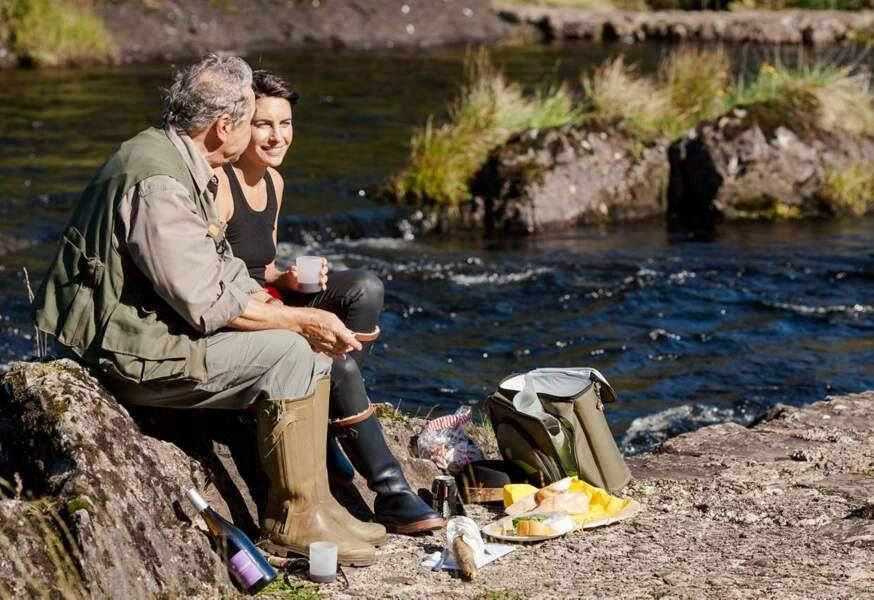 A la pêche avec Pierre Perret, en Irlande