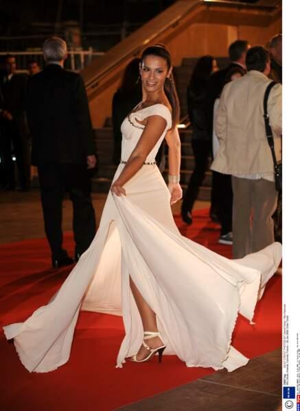 La comédienne Elisa Tovati s'était lancée dans la chanson, ici en 2008.