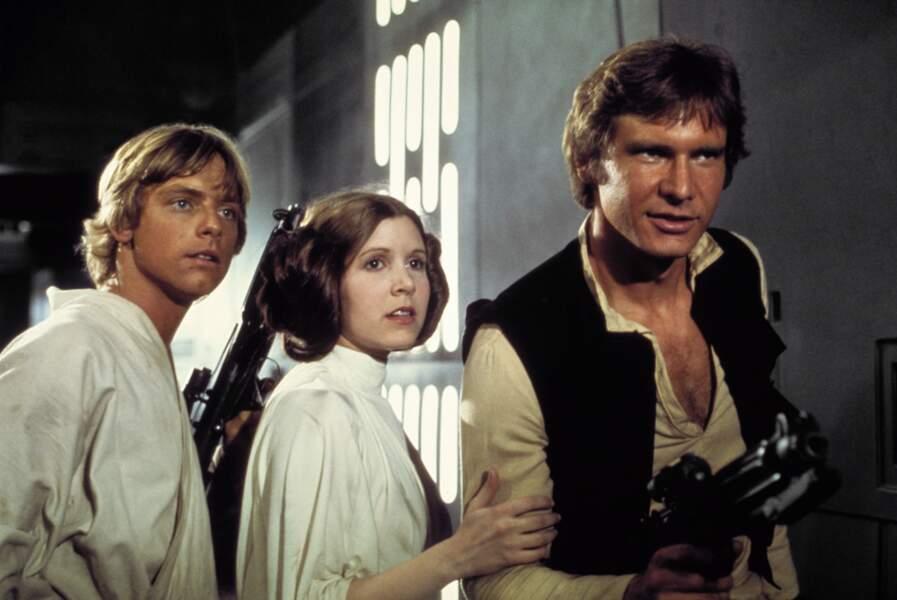 Luke, Leia et Han Solo : un trio de choc (Un Nouvel espoir)