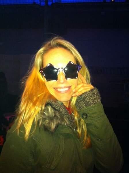 En cette période de fêtes, Tonya Kinsinger a des étoiles plein les yeux...