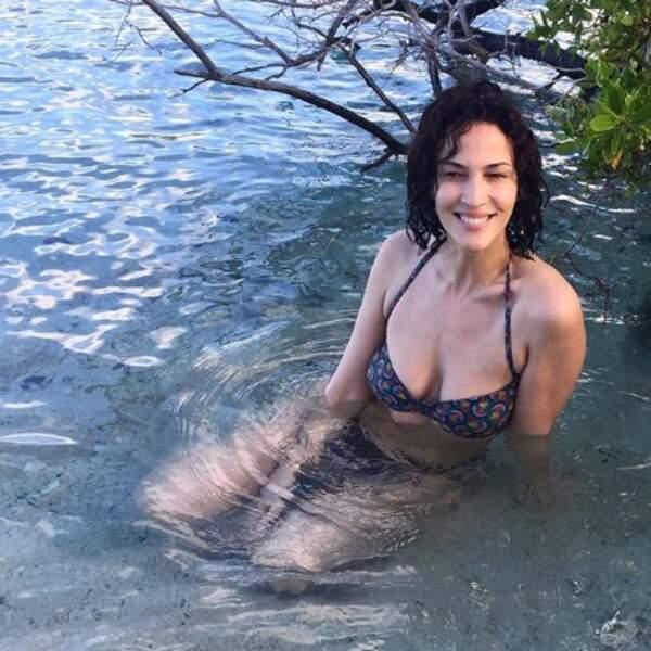 Linda Hardy a fait sa sirène en Martinique.