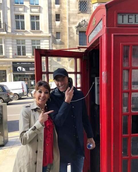 Zinédine Zidane et sa femme Véronique sont des touristes comme les autres.