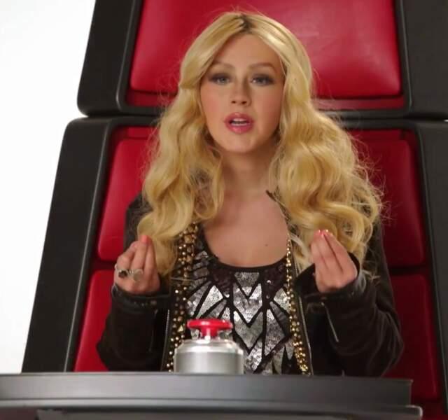Sans oublier la toute petite blonde qui depuis est devenue une diva RnB : Christina Aguilera