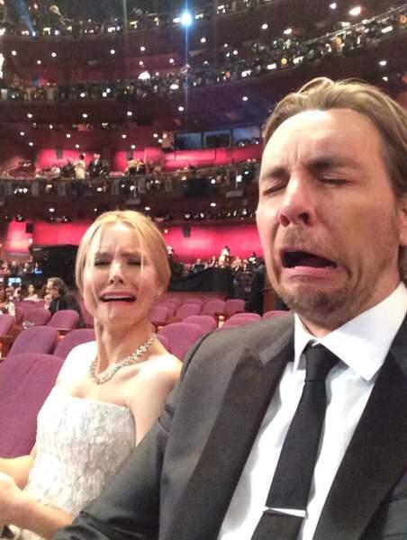 Kristen Bell et Dax Shepard sont verts : ils n'ont pas eu d'Oscar