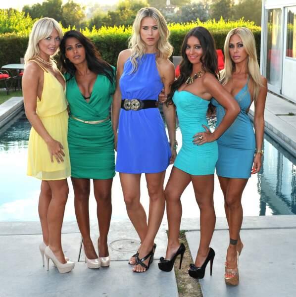 Caroline Receveur, Ayem Nour, Sylvia Jageniak, Laura Coll, Shauna Sand, les belles de la série