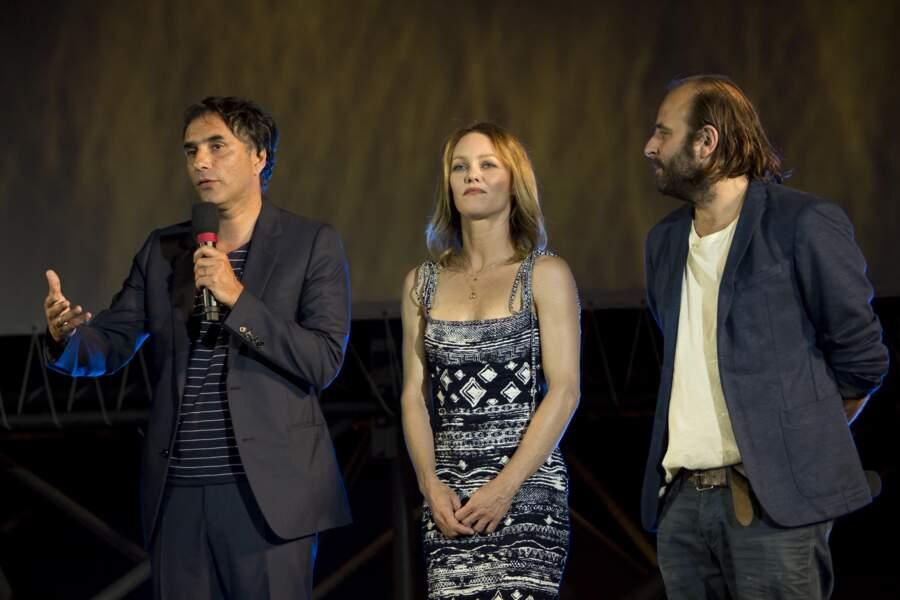 Samuel Benchetrit présentait en avant-première son film Chien, dans lequel Vanessa Paradis joue