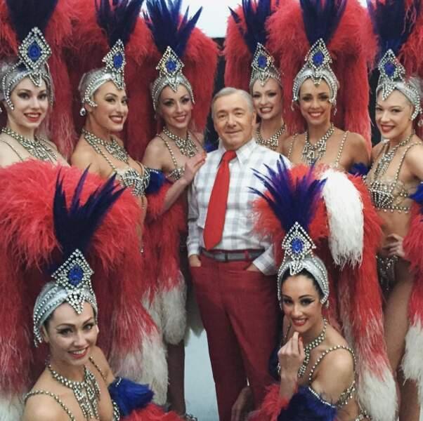 Kevin Spacey s'est trouvé quelques copines !