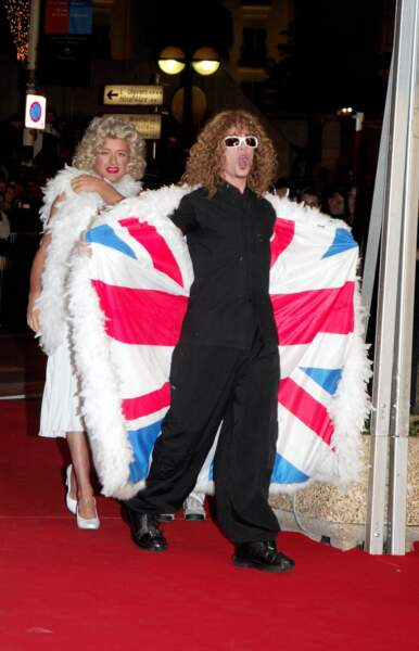 Pour la promotion de Fan, c'est déguisé en Michel Polnareff que Pascal Obispo posait devant les photographes