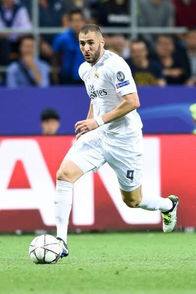 Depuis 2009, Karim Benzema est à la pointe de l'attaque du Real Madrid