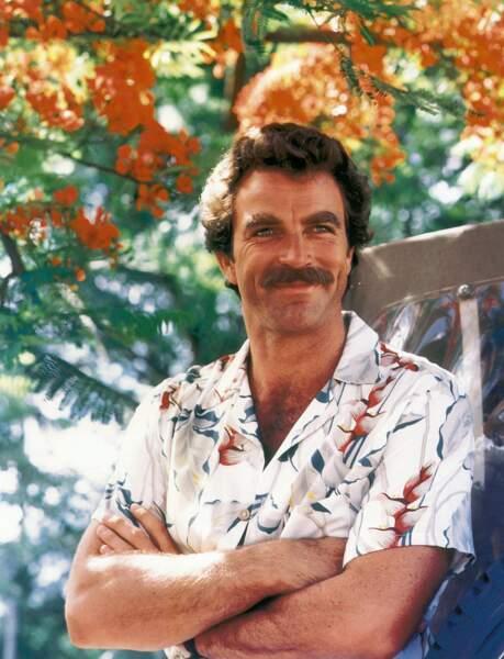 Tom Selleck incarnait Thomas Magnum, la star de la série culte