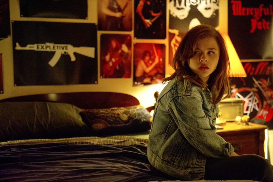 La jeune actrice est également apparue dans le film Dark Places