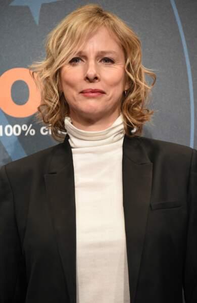 L'actrice Karin Viard