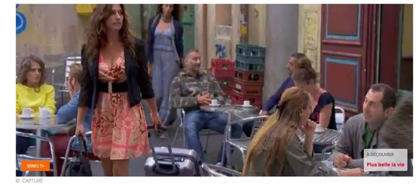 Octobre : suite à son aventure avec Francesco, Mélanie quitte le Mistral pour Villetaneuse